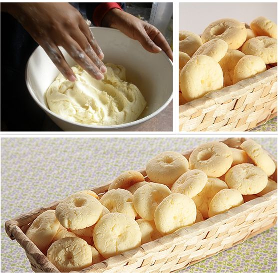 Biscoitinho rapidinho de maizena, apenas 3 ingredientes - {easy cornstarch cookie, only 3 ingredients}