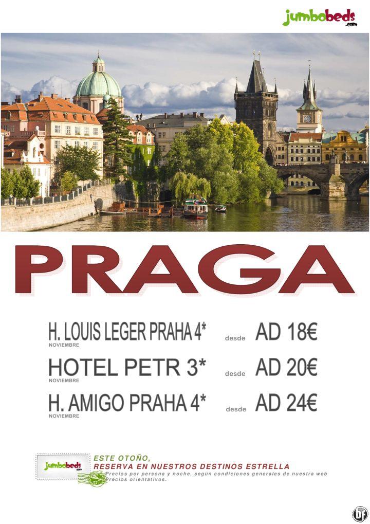 ¡¡¡ En Noviembre visita Praga - Hotel 4* en AD dsd 18€ pax/dia !!! - http://zocotours.com/en-noviembre-visita-praga-hotel-4-en-ad-dsd-18e-paxdia/