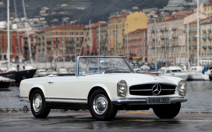 My Dad's and my Uncle's car. I know it well. Inside and out. Mercedes-Benz 230SL