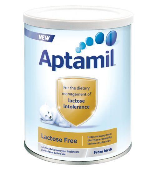 Aptamil Lactose Free From Birth 400g UK