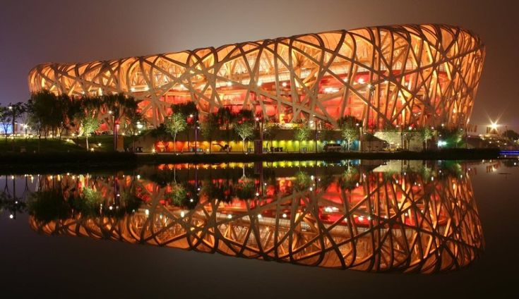 Beijing National Stadium, China Also known as Bird's Nest