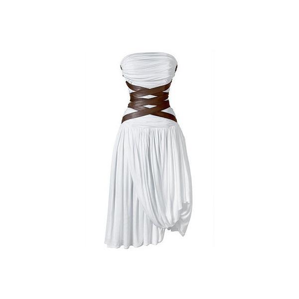 Деним, корсеты, морские принты ипляжная одежда SS2009 (тенденции... ❤ liked on Polyvore