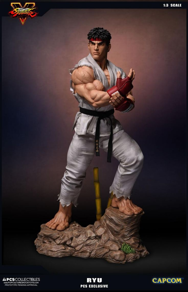 Check Out These $900 Street Fighter 5 Statues - GameSpot