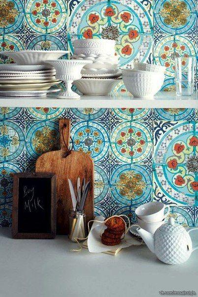Марокканская плитка в интерьере | Квартирный метр
