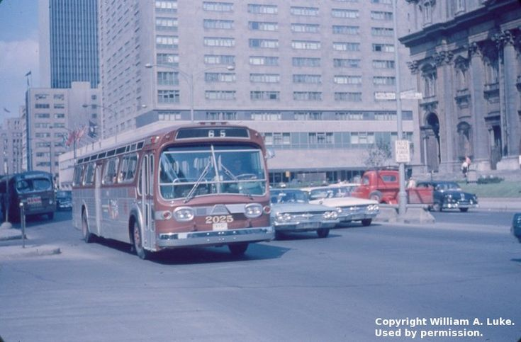 Transit History of Montreal, Quebec