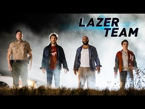 The Lazer Team trailer is here and it's awesome!