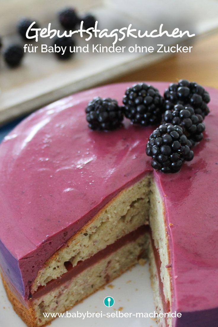 Geburtstagskuchen Zum 1 Geburtstag Ohne Zucker Geburtstagskuchen Fur Baby Kinder Kuchen Geburtstag Und Baby Kuchen