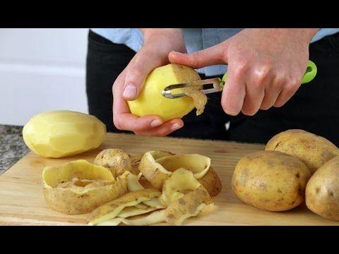 Картофельная кожура  Стоит ли выбрасывать  Противораковые свойства карто...