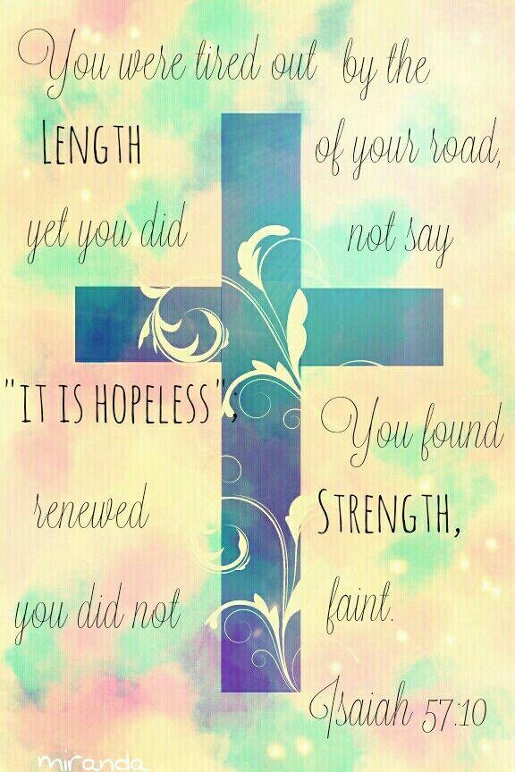 Motivating Quote Wallpaper Isaiah 57 10 Motivating Bible Verse Getting Me Through