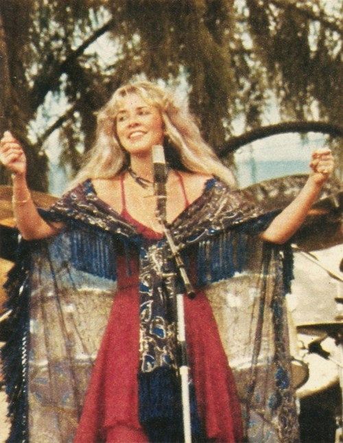 Stevie Nicks - original BoHo Chick July 30, 1978.