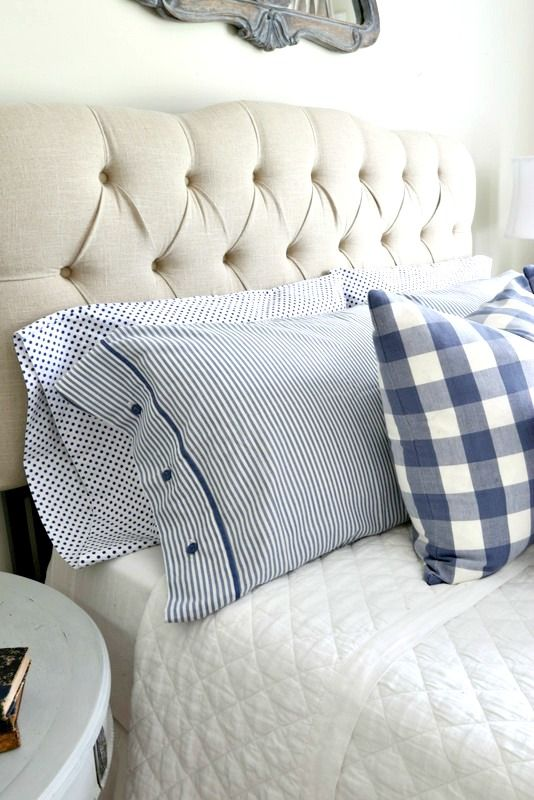 Savvy Southern Style: Blue and White Guest Room
