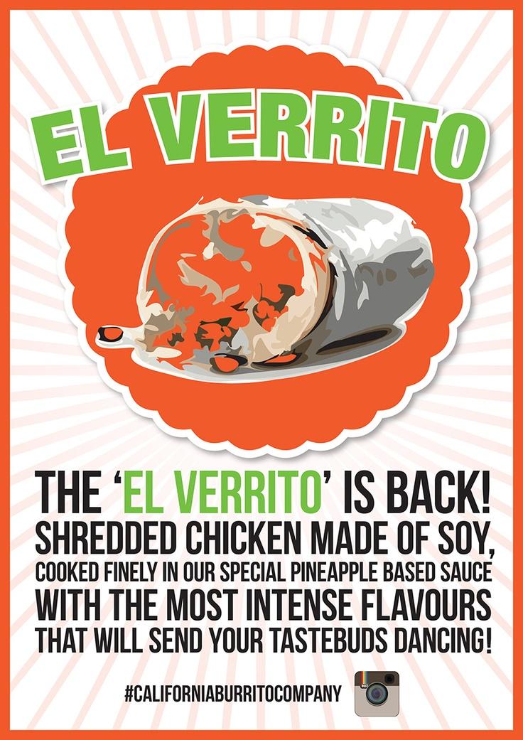 The El Verrito is back #vegan