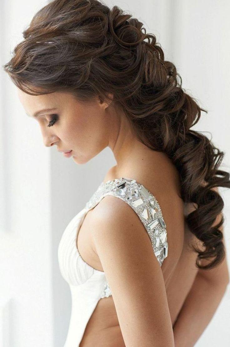 best vestido de noiva images on pinterest bridal hairstyles