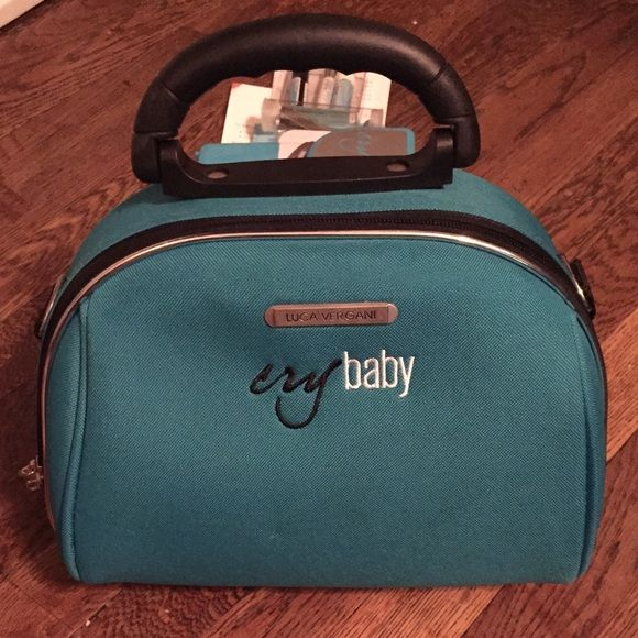 Cry Baby Semi Permanent Mascara Kit Cry Baby Semi Permanent Mascara Kit. Used 3 times. Includes: protective foam under eye pads, cry baby lash curler, lash primer, pre mixed semi permanent mascara, mascara remover, cry baby fan, cry baby makeup case, all original literature with client forms, application instructions,etc. Cry Baby Makeup