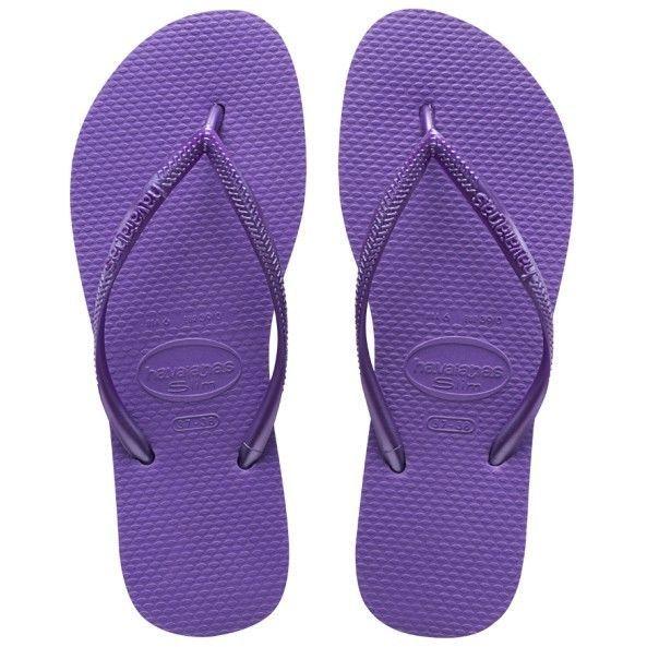 Havaianas Slim Ladies Flipflops - Dark Purple