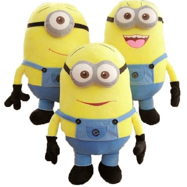 These yellow, blue dungaree wearing minions are so adorable we want to eat every last bit of them! They say one size fits all and this minion toy is a one size fits all that will surely add joy even to the hardest of hearts. A simple squeeze is a guaranteed stress reliever. Whether it's a smiling minion or a laughing minion, these minions are sure to warm your heart. This toy is a cool gift idea that would bring joy and happiness to all ages.