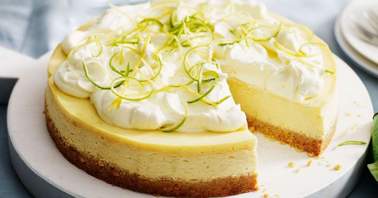 Get into the citrus season with this heavenly zesty lemon and lime cheesecake.