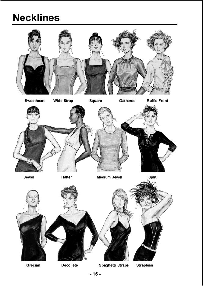Neck patterns for Women