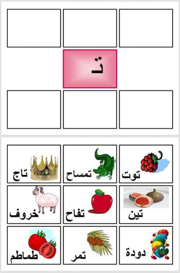 الحروف نتائج البحث مدونة جنى للأطفال Arabic Alphabet For Kids Learn Arabic Alphabet Arabic Alphabet