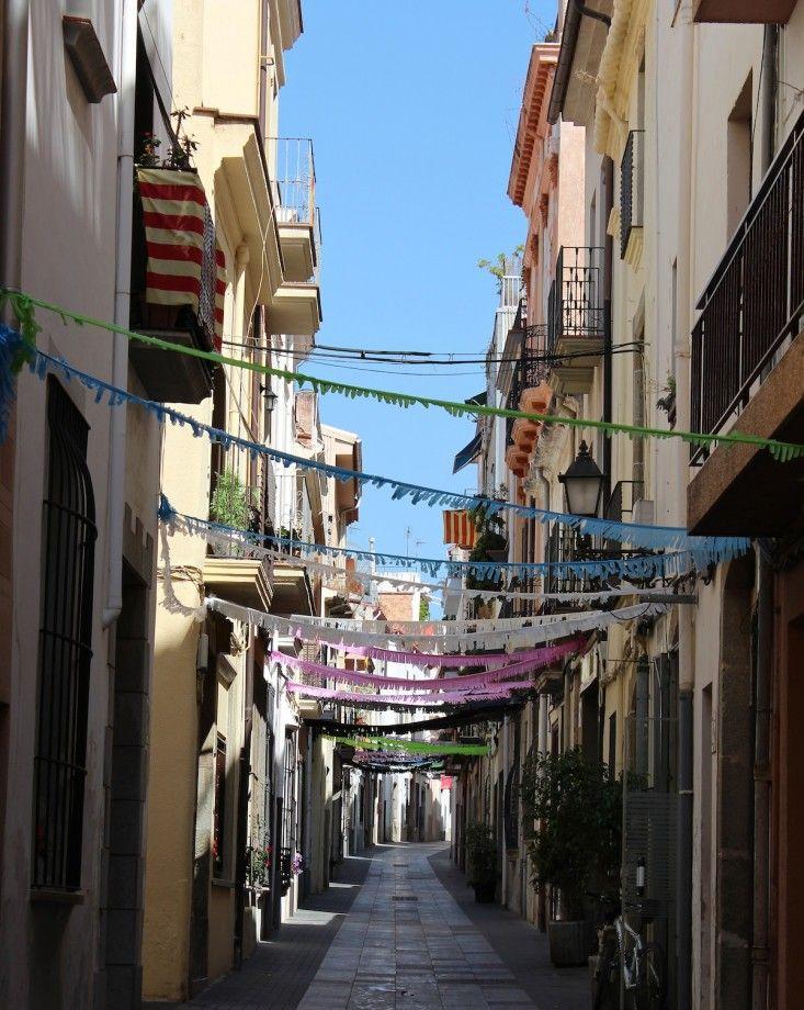 arenys de mar street barcelona spain via Gardenista