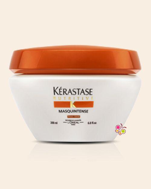 KERASTASE Nutritive Masquintense Thick Kalın Telli Saçlar İçin Nemlendirici ve Besleyici Maske 200 ml