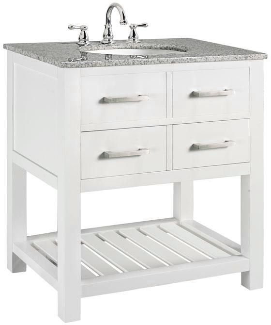 Fraser Bath Vanity, $499 Includes Vanity, Top And Sink. Faucet Extra. This