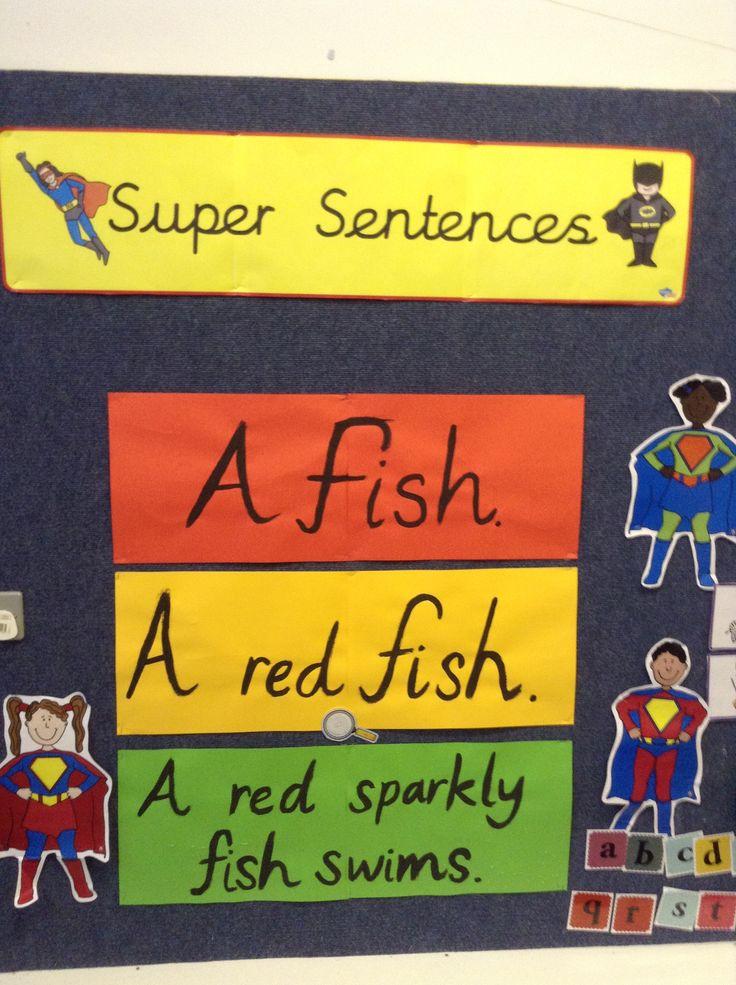 Super sentences display!