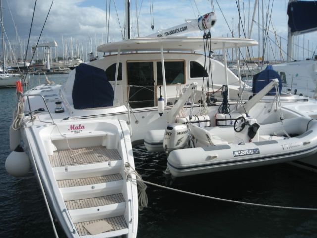 Image Gallery Catamaran for Sale MALA Lagoon 570 LAGOON Preowned Sail