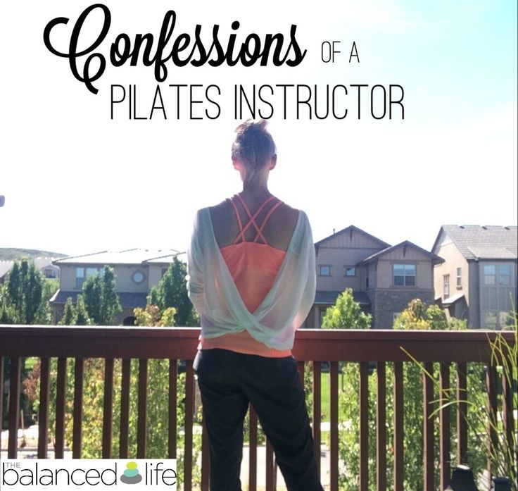 Blog: Confessions Of A Pilates Instructor -  She says it all perfectly...