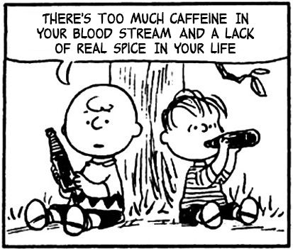 this charming charlie = charlie brown + the smiths lyrics. utter genius. i also used to have this quote on my wall in college.