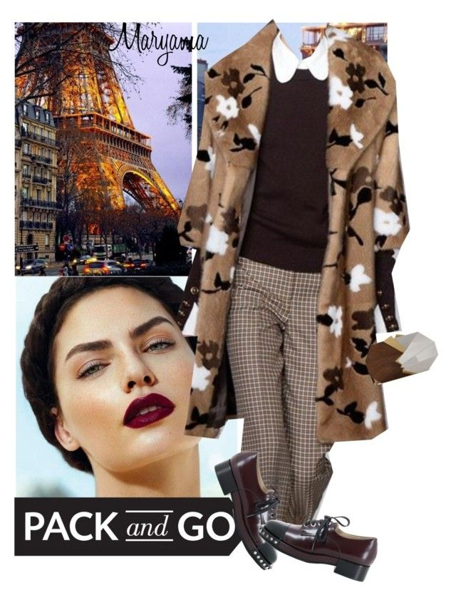"""1823"" by klukina-mv ❤ liked on Polyvore featuring Jill Haber, parisfashionweek and Packandgo"
