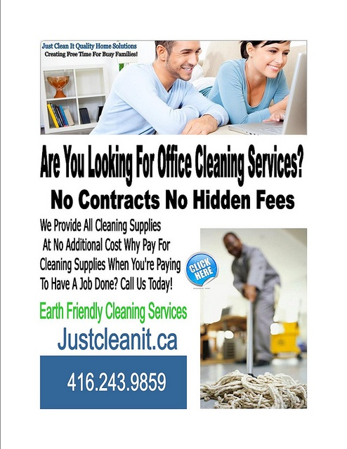 Office Cleaning Services Toronto...    http://maidcleaningservicesatlanta.com/
