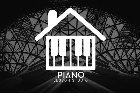 Piano Lesson Studio Logo by Magoo Studio on Creative Market
