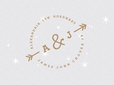 Designspiration — Dribbble - Web Header by John Choura Jr. Wedding Invitation