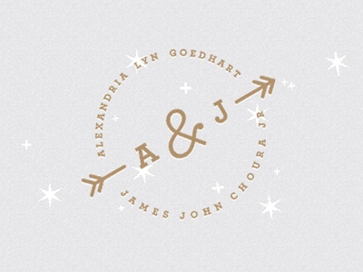 Designspiration — Dribbble - Web Header by John Choura Jr. Wedding Invitation