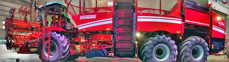 Grimme Rexor 930 bietenrooier, 9-rijen plus 30-tons bunker. Stehouwer www.sthmachines.nl