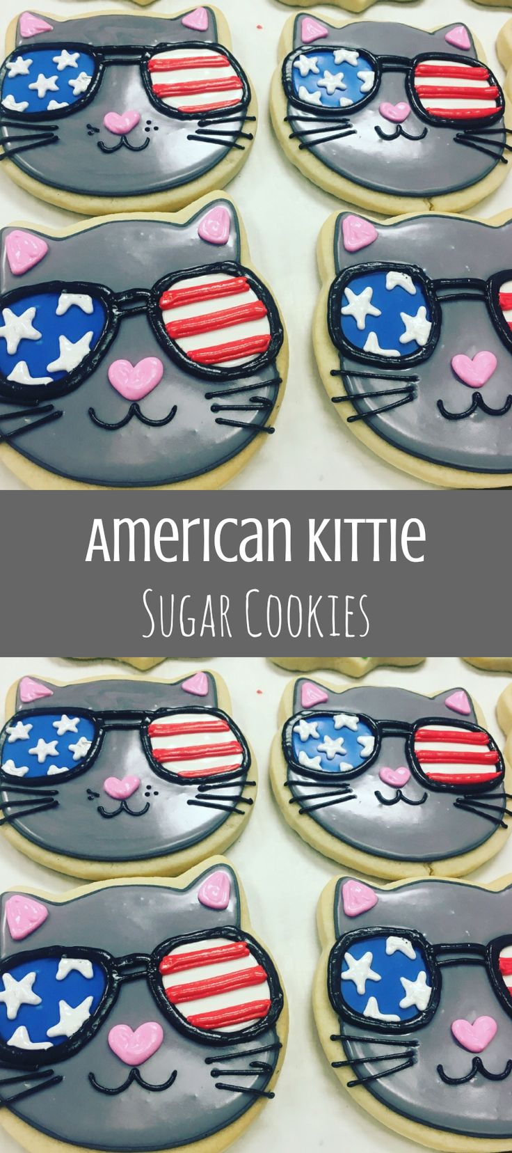 AMEOWica Fourth of July cat cookies #affiliate