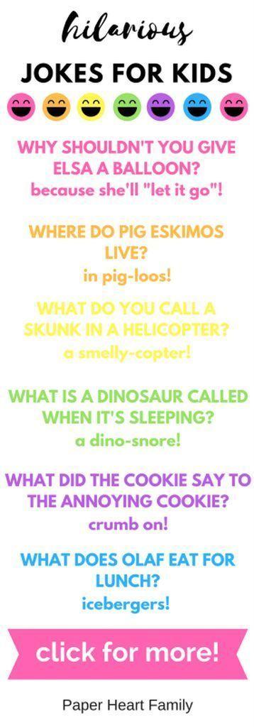 hilarious jokes for kids #ParentingTips