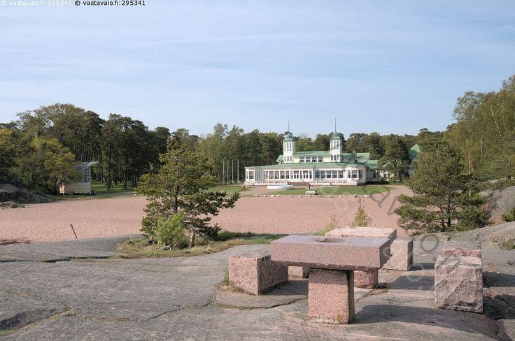 Hangon kasino - Hankoniemi Itämeri merenranta
