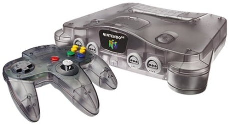nintendo 64 I loved the donkey kong game, but I would just run around in it haha