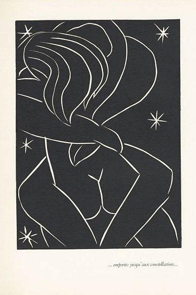 Up into the constellations... Matisse: emporte jusqu'aux constellations
