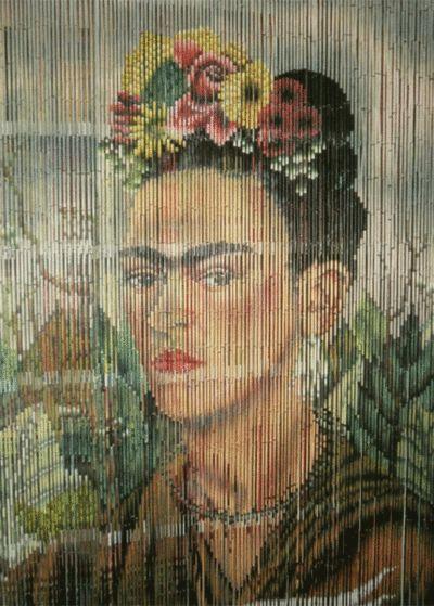 Frida Kahlo, draperi. krabat53.se 795 kronor