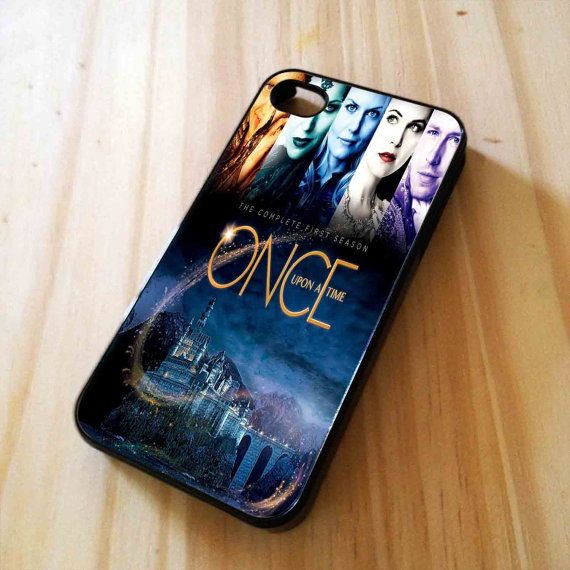 Once Upon A Time Design for iPhone 4/4s/5, Samsung Galaxy S3/S4 Case