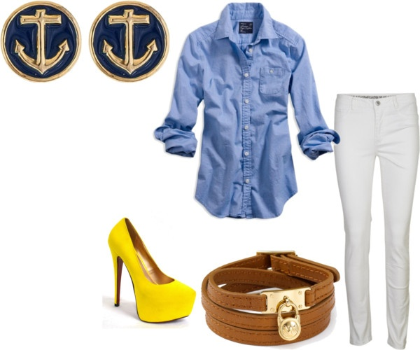 """Summer Lunch Outfit"" by ferfbomb on Polyvore"