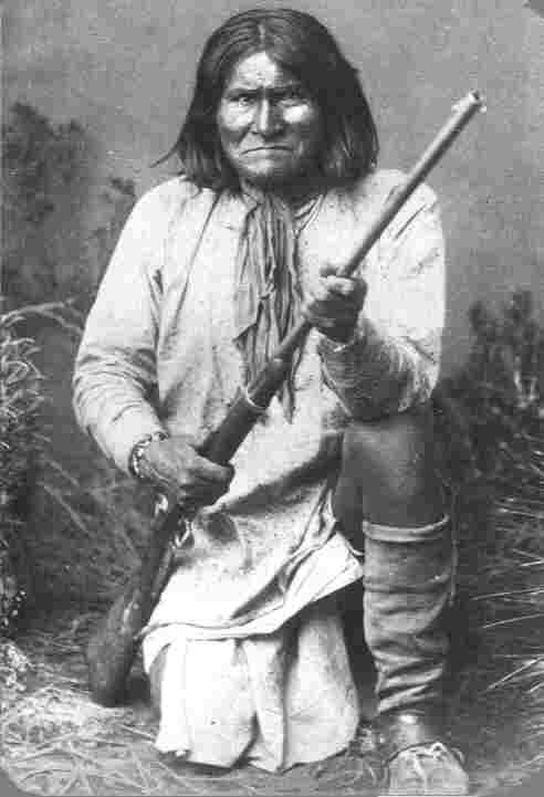 Geronimo photographed by C.S. Fly