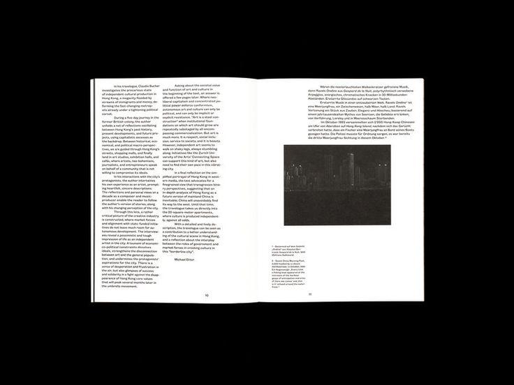 Book Design Why Hong Kong? by studio niedermann
