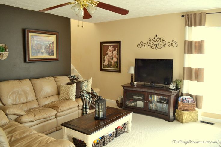 Shades of brown paint on walls speak your mind cancel reply home pinterest the two - Living room paint cream ...