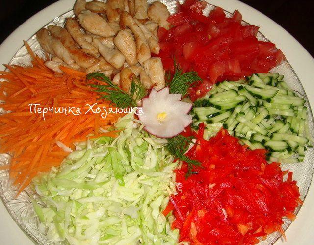 Салат *Козел в огороде*-лучшие рецепты - Перчинка хозяюшка