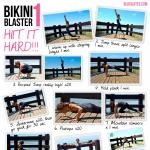 Bikini Blaster Series | HIIT IT! Attempting this tomorrow, 2X in the morning and 2X in the afternoon!