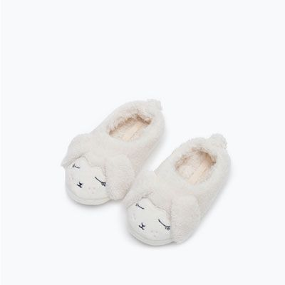 LAMB SLIPPERS - COLLECTION-GIRL-KIDS-SALE | ZARA Czech Republic